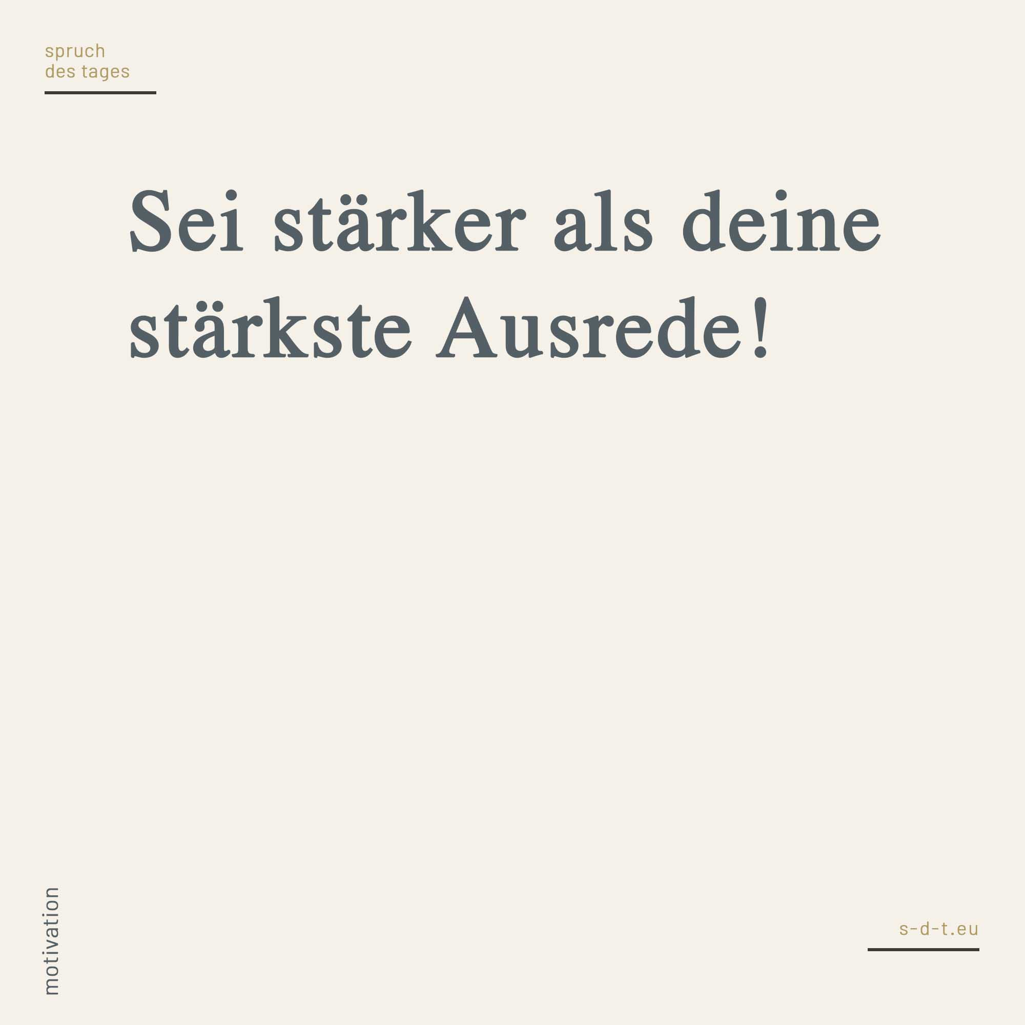 spruch-des-tages.eu Motivation